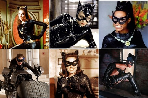 Batman wallpaper titled Catwoman Collage