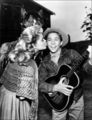 Cheryl Holdridge And Johnny Crawford  - disney photo