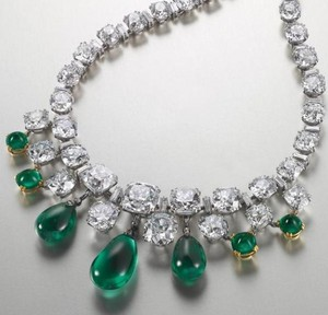 Chopard Maicent Diamond and Esmeralda kuwintas