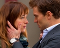 Christian and Anastasia - fifty-shades-of-grey wallpaper