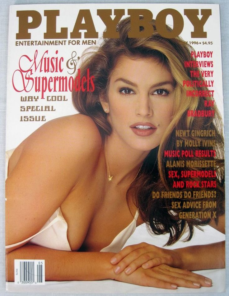 Cindy Crawford On Cover Of Playboy