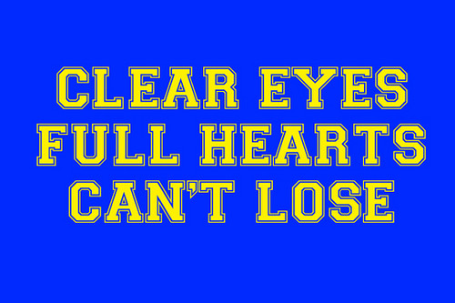 Friday Night Lights fond d'écran titled Clear Eyes, Full Hearts, Can't Lose