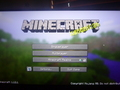 Clicked on MineCraft and the yellow letters are all scrambled and i couldnt take a screenshot of it. - minecraft photo