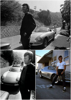 Clint Eastwood and his Ferrari 275
