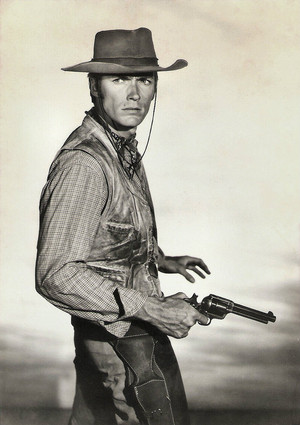 Clint Eastwood in Rawhide 1959-1966