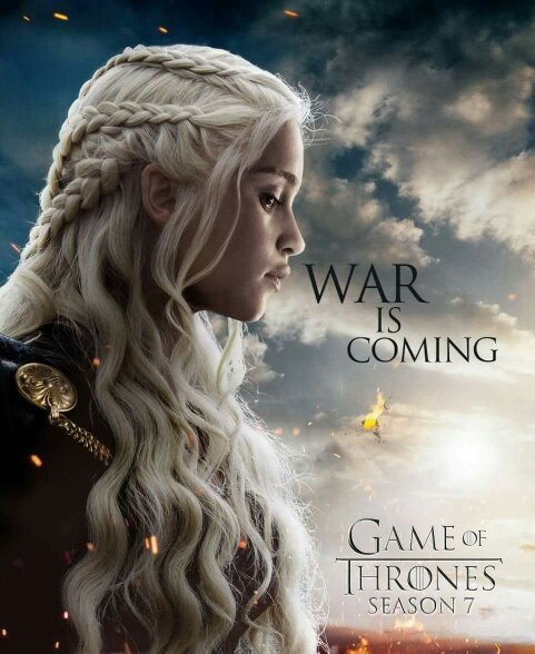 Daenerys Season 7 Poster
