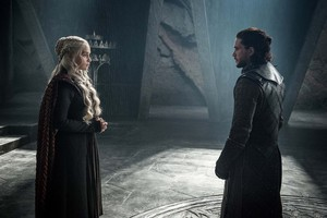 Daenerys Targaryen and Jon Snow 7x03 - The Queen's Justice