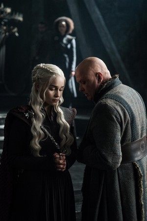 Daenerys Targaryen and Varys 7x03 - The Queen's Justice