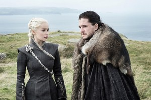 Daenerys and Jon 7x05 - Eastwatch
