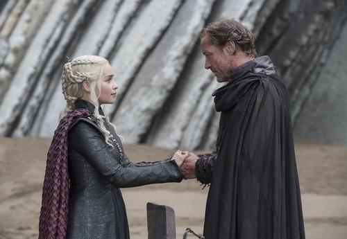 Дейенерис Таргариен Обои titled Daenerys and Ser Jorah 7x05 - Eastwatch