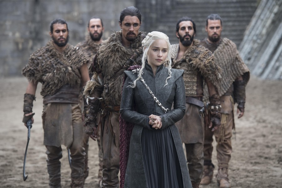 Daenerys and the Dothrakis 7x05 - Eastwatch