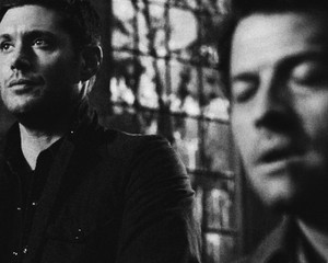 Dean and Castiel