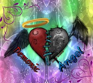 Demonic 天使 壁纸 10902545