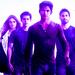 Derek, Scott, Stiles and Lydia - derek-hale icon