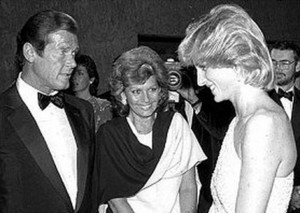 Diana And Sir Roger Moore