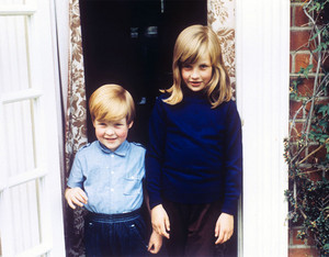 Diana And Younger Brother, Charles