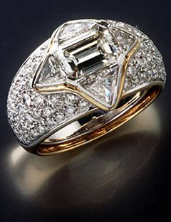 Diana's Engagement Ring From Dodi Fayad