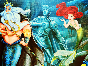 디즈니 Fairytail- Designer Collection - Ariel and Triton