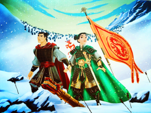 Disney Fairytail- Designer Collection - Mulan and Shang