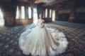 Dreamy Wedding Dress - daydreaming photo