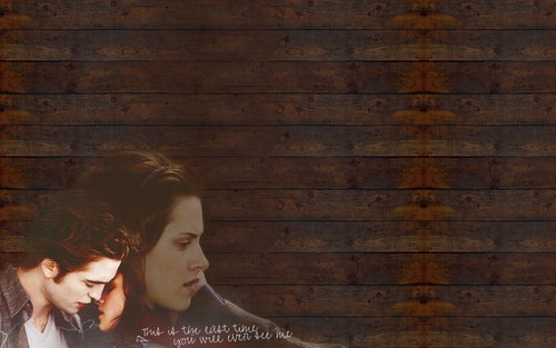 Twilight Series wallpaper called Edward and Bella