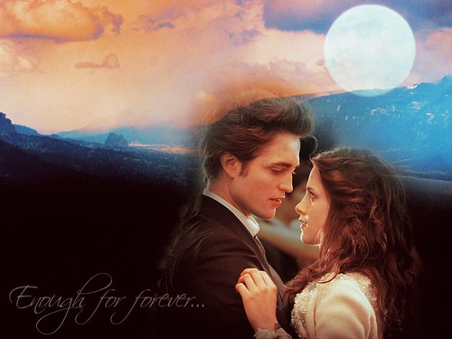 Twilight Series wallpaper titled Edward and Bella