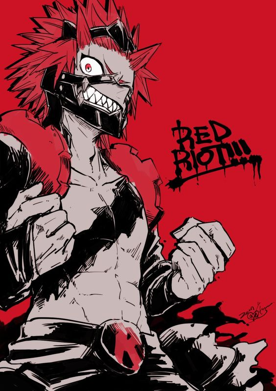 Eijirou Kirishima My Hero Academia Favorite Guys Photo