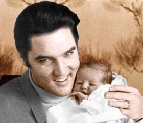 Elvis And Daughter, Lisa Marie