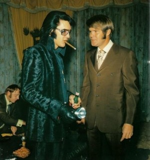 Elvis And Glenn Campbell