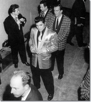 Elvis Backstage