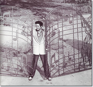 Elvis Presley Graceland Gates, in 1957