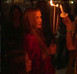 Elvis Presley's Graceland's Candlelight Vigil 2017