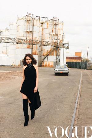 Emilia Clarke for Vogue China