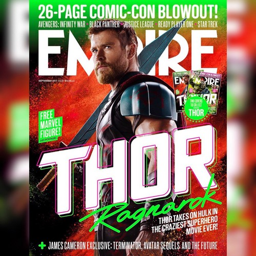 Thor: Ragnarok Hintergrund entitled Empire Magazine Covers