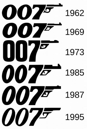 Evolution Of The Bond Logo