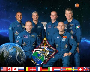 Expedition 53 Mission Crew