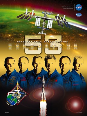 Expedition 53 Mission Poster
