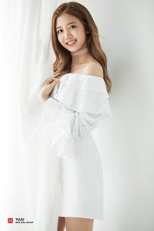 FNC New Girl Group 1st Member Concept Foto - Yuju
