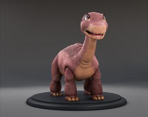 Fan-Made Littlefoot in 3D