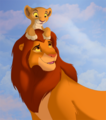 Father and Daughter - the-lion-king fan art