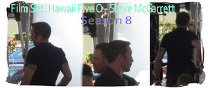Film set: Hawaii Five 0 - Season 8 - 💛 Steve McGarrett