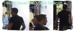 Film set: Hawaii Five 0 - Season 8 - 💛 Steve McGarrett