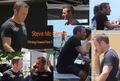 "Filming Hawaii Five 0 - Season 8 - Lieutenant Commander Steven ""Steve"" J. McGarrett - television fan art"