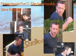 "Filming Hawaii Five 0 - Season 8 - Lieutenant Commander Steven ""Steve"" J. McGarrett"