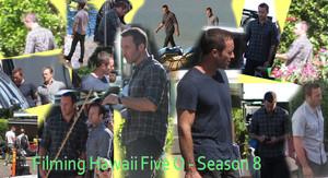 Filming Hawaii Five 0 - Season 8