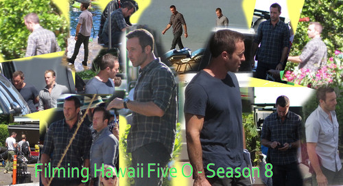 Hawaii Five-0 (2010) wallpaper entitled Filming Hawaii Five 0 - Season 8