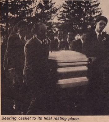 Florence Ballard's Funeral Back In 1976 - 英年早逝的明星 照片 ...