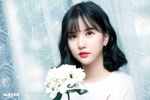GFriend দেওয়ালপত্র titled GFRIEND 'LOVE WHISPER' MV Shooting - Eunha