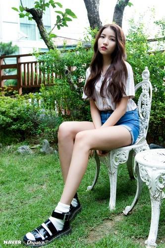 GFriend দেওয়ালপত্র called GFRIEND 'LOVE WHISPER' MV Shooting - Sowon