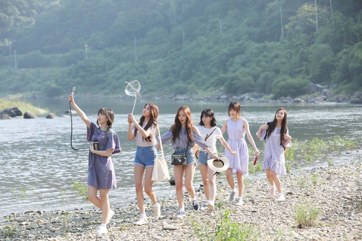 GFRIEND 'Love Whisper' MV Shooting Site